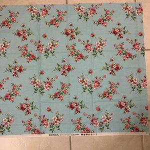 Free waverly fabric scrap